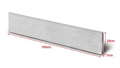 Obrubník parkový 100x20x5cm